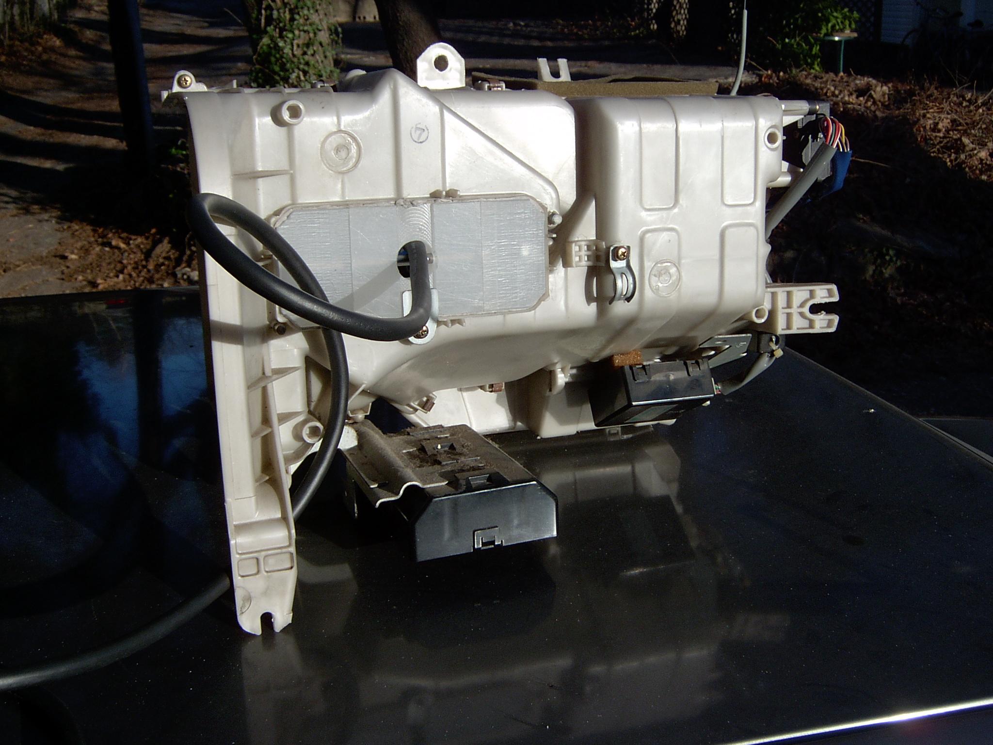 Heater module installed