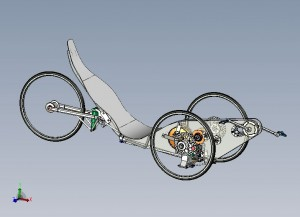 Velomobile chassis